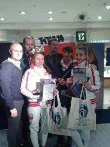 Anna Mroszczak I miejsce Puchar Europy Kadetek Krakow 2014