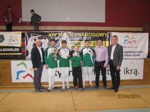 Srebrna drużyna Mistrzostw Śląska 2014