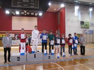 Maciej Białas I miejsce Rybnik Cup