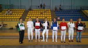 Anna Mroszczak Mistrzynia Śląska juniorek młodszych Radlin 2014.06.08