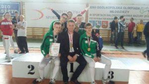 Mistrzostwa Polski juiorów mł (OOM) Olsztyn (2)