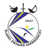 logo Śląskiego Związku Szermierczego
